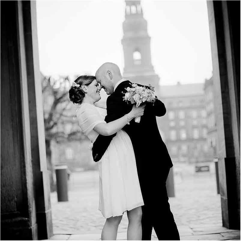 Bryllup i Sct. Thomas Kirke