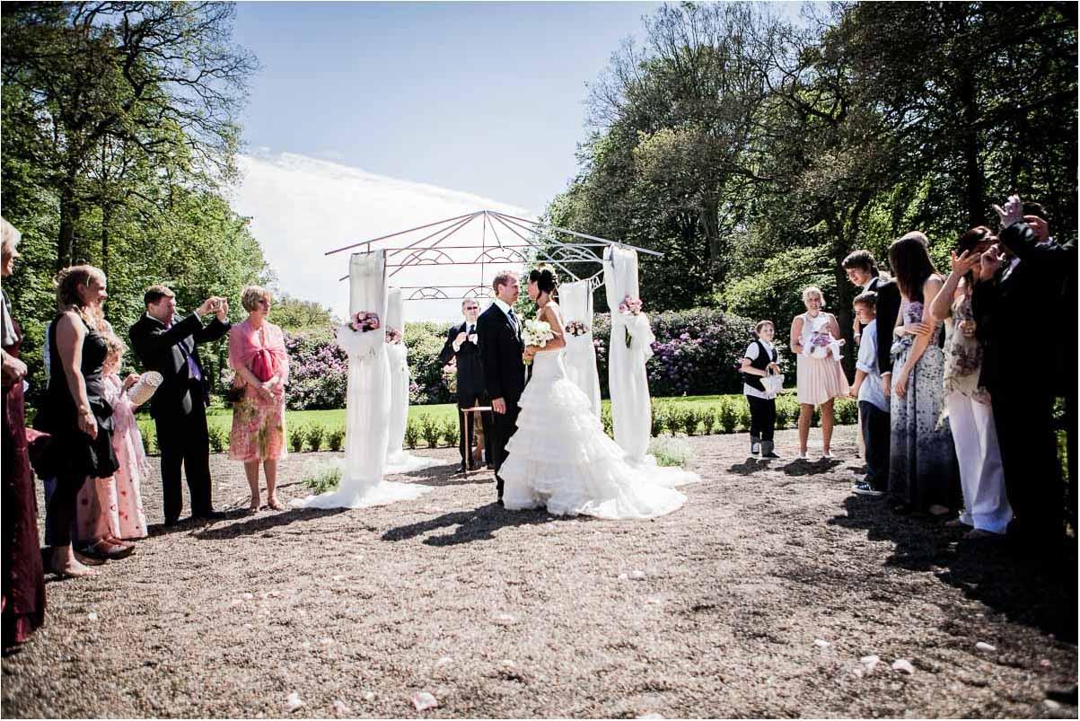 Drømmer om udendørs bryllup i Jylland