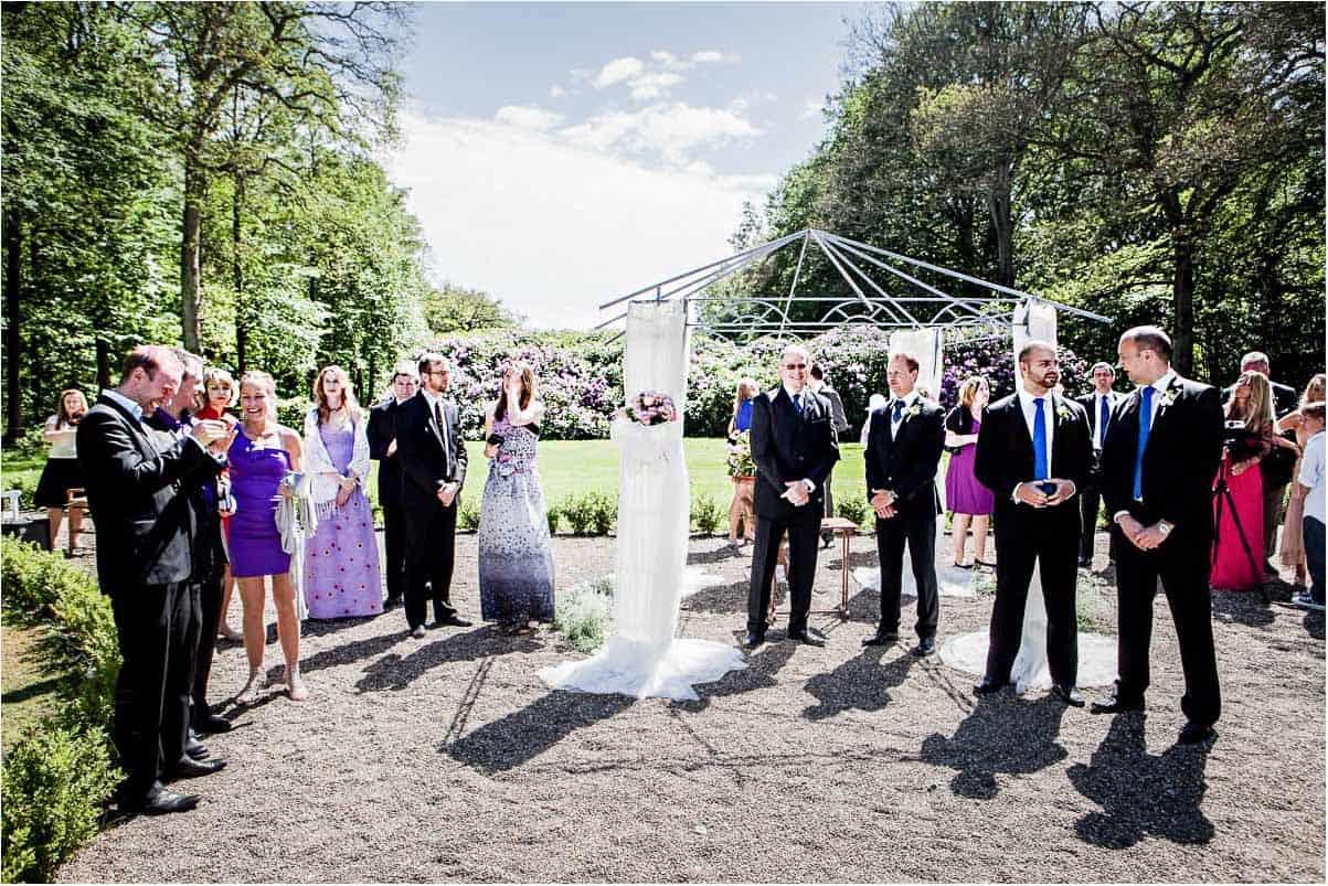 bryllup udendørs