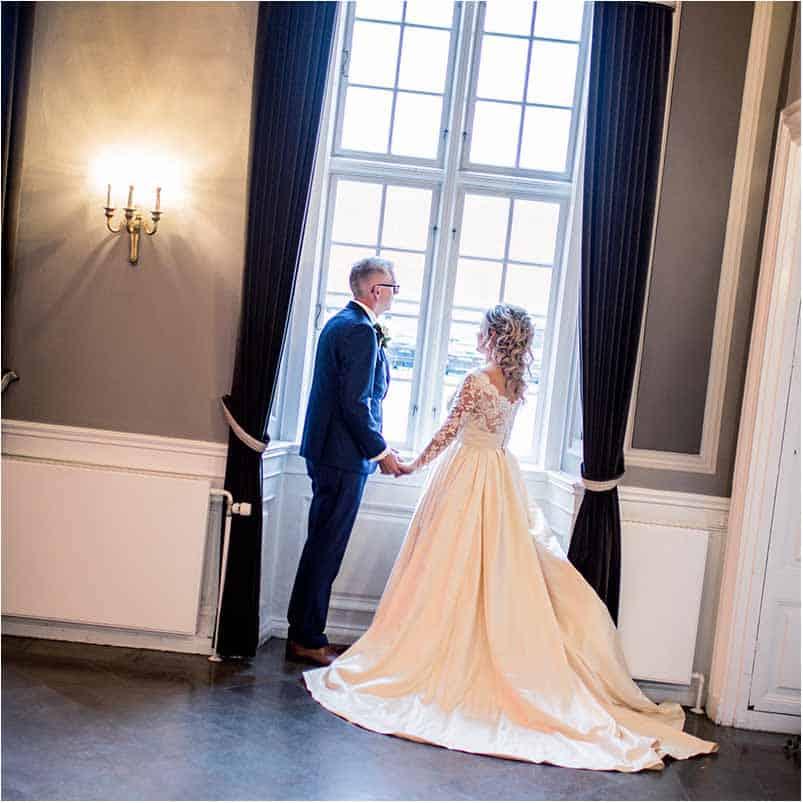 Brudepar paa Nimb - Koebenhavn