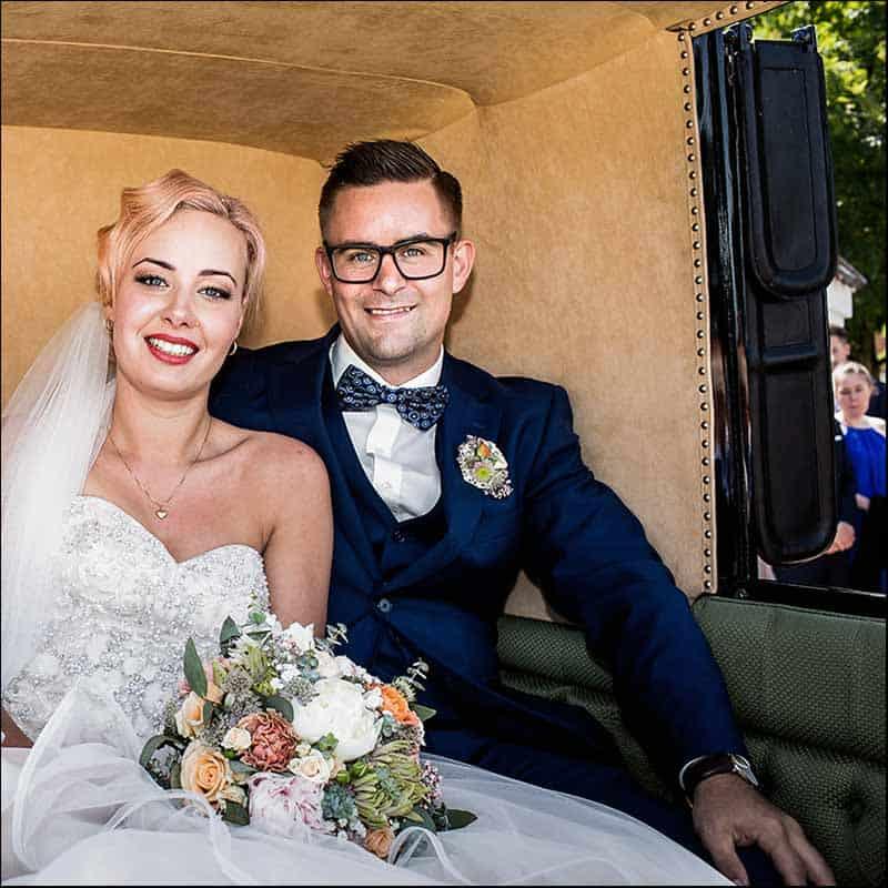 Brudebuketten er brudens smykke