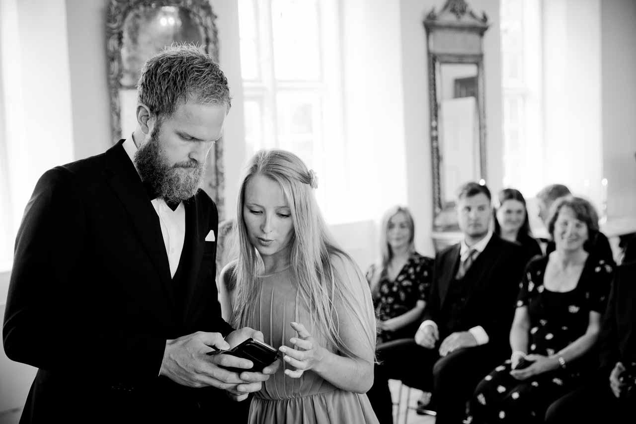 Nørre Vosborg bryllup - Bryllupsfotograf