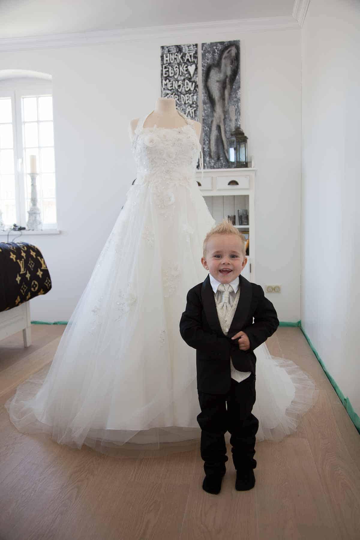 bryllup og børn