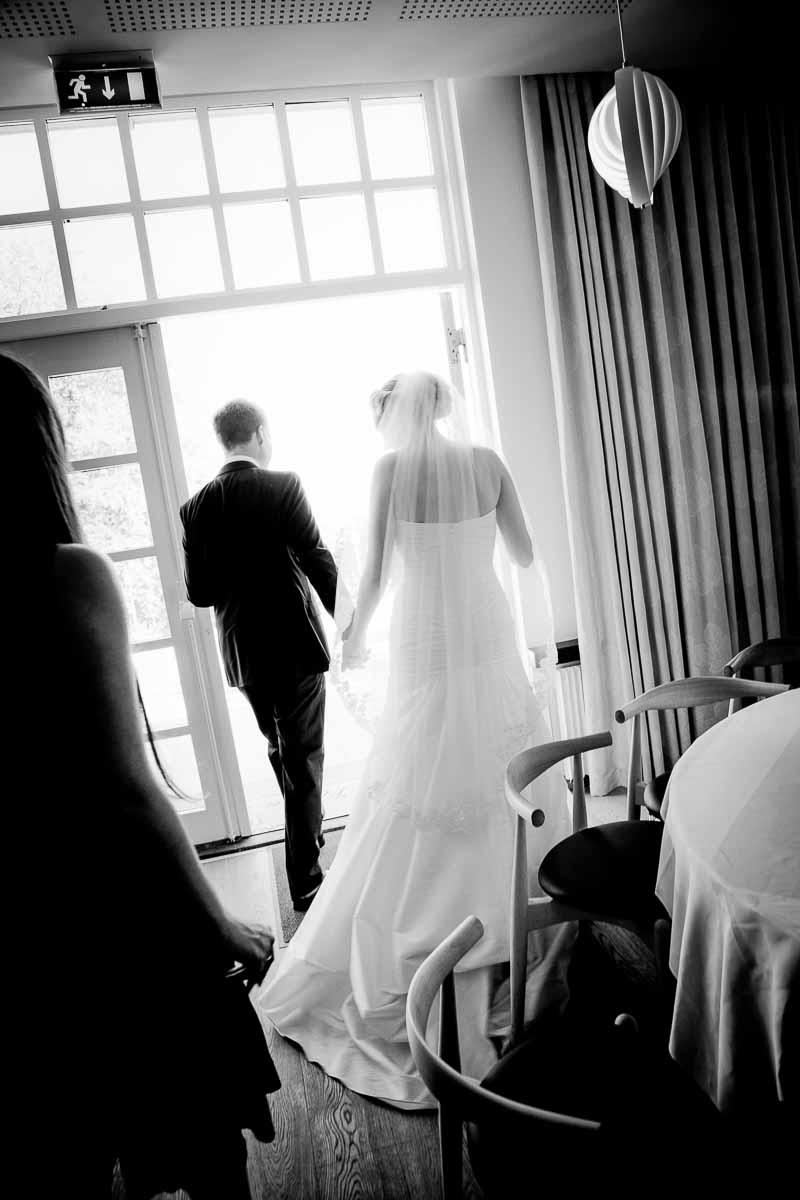 Når reiser brudeparet fra bryllupsfesten?