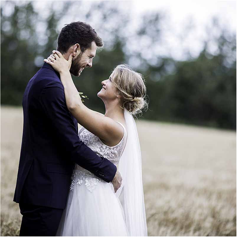 En perfekt bryllupsoppsetning