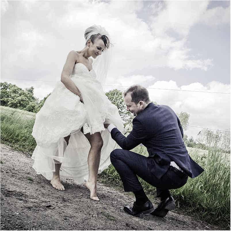 8 uker før bryllupet