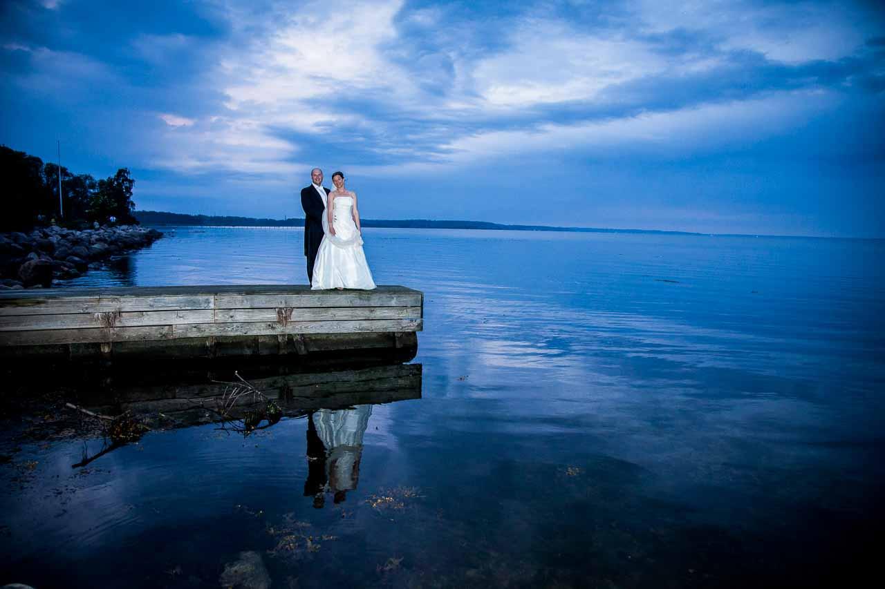 Hvis bruden ønsker at få fanget kunstneriske bryllupsbilleder