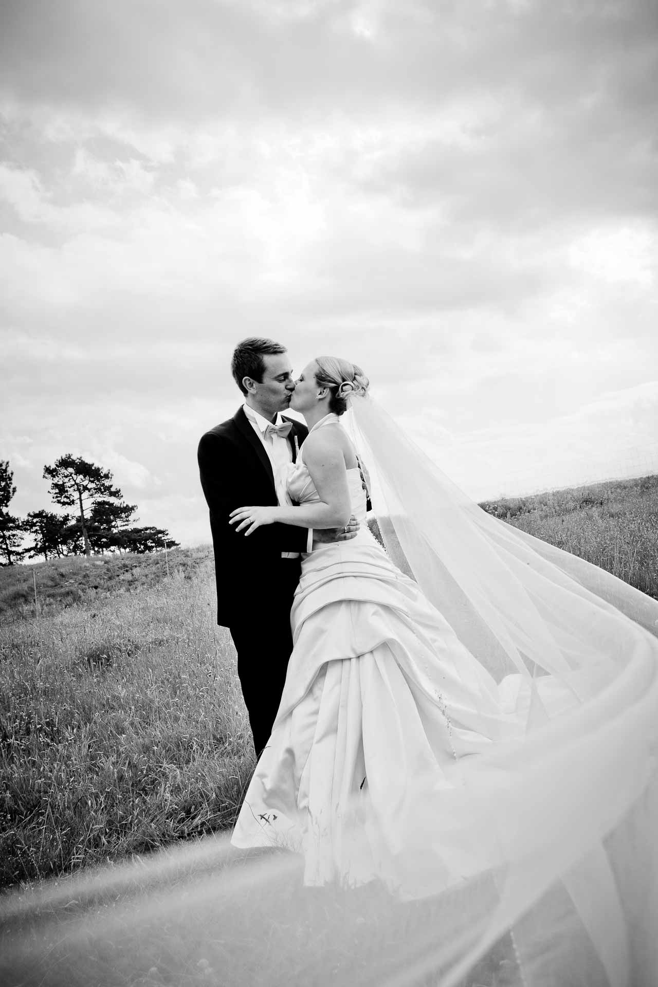 fotokunstnerisk bryllupsfoto
