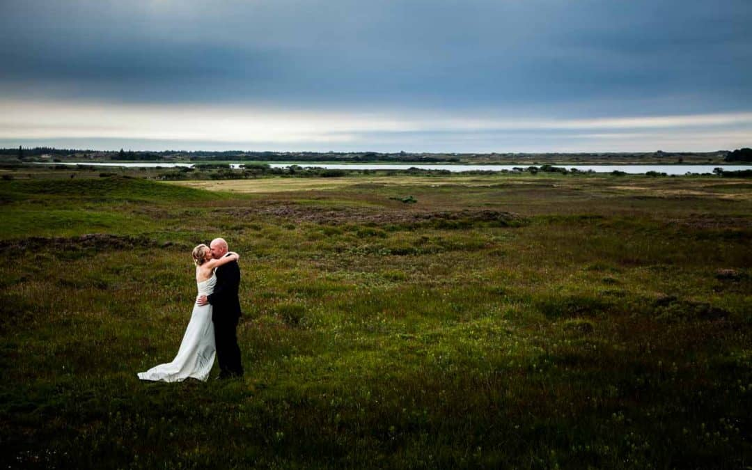 Opdeling af bryllupsfotografer