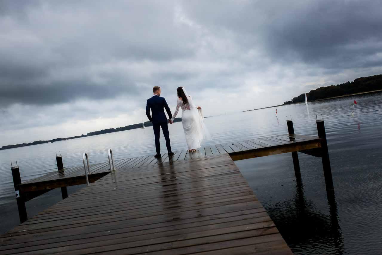 utraditionelle bryllupsbilleder
