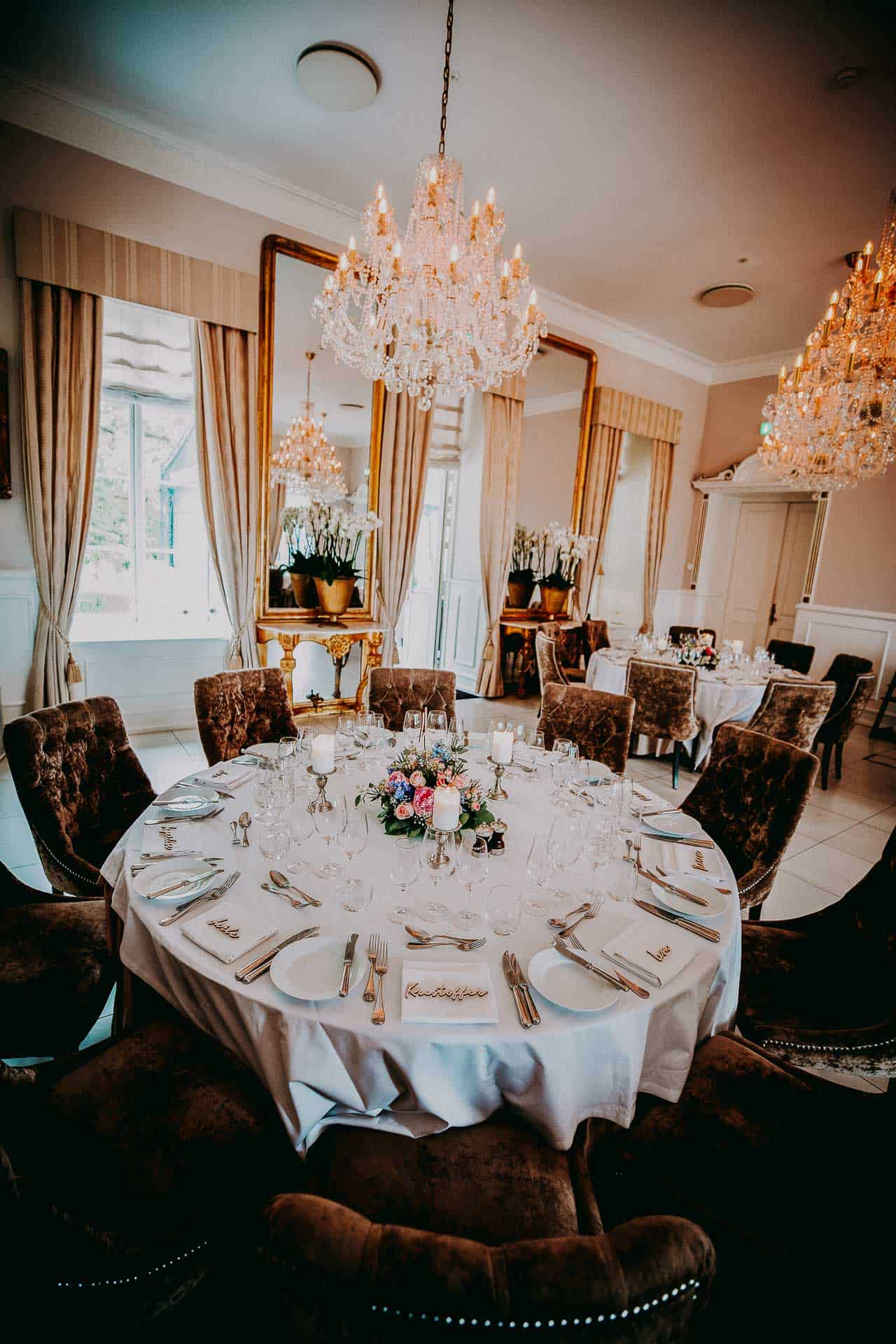 Til bryllupsfest på Kokkedal Slot