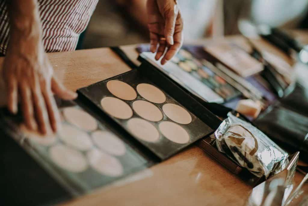 makeup bryllup