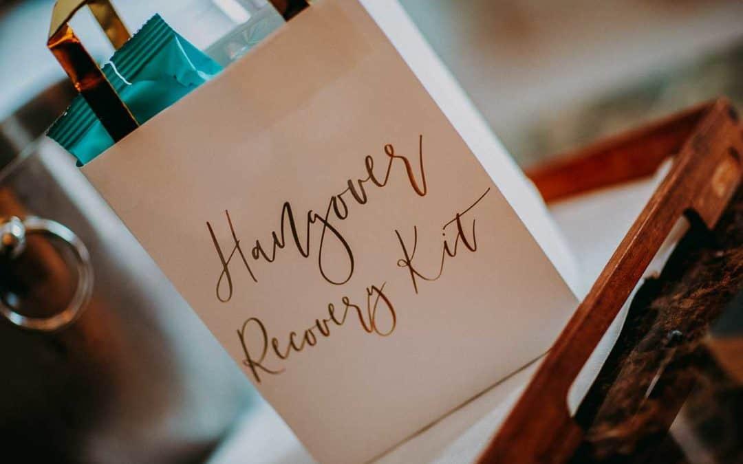 hangover bag bryllup