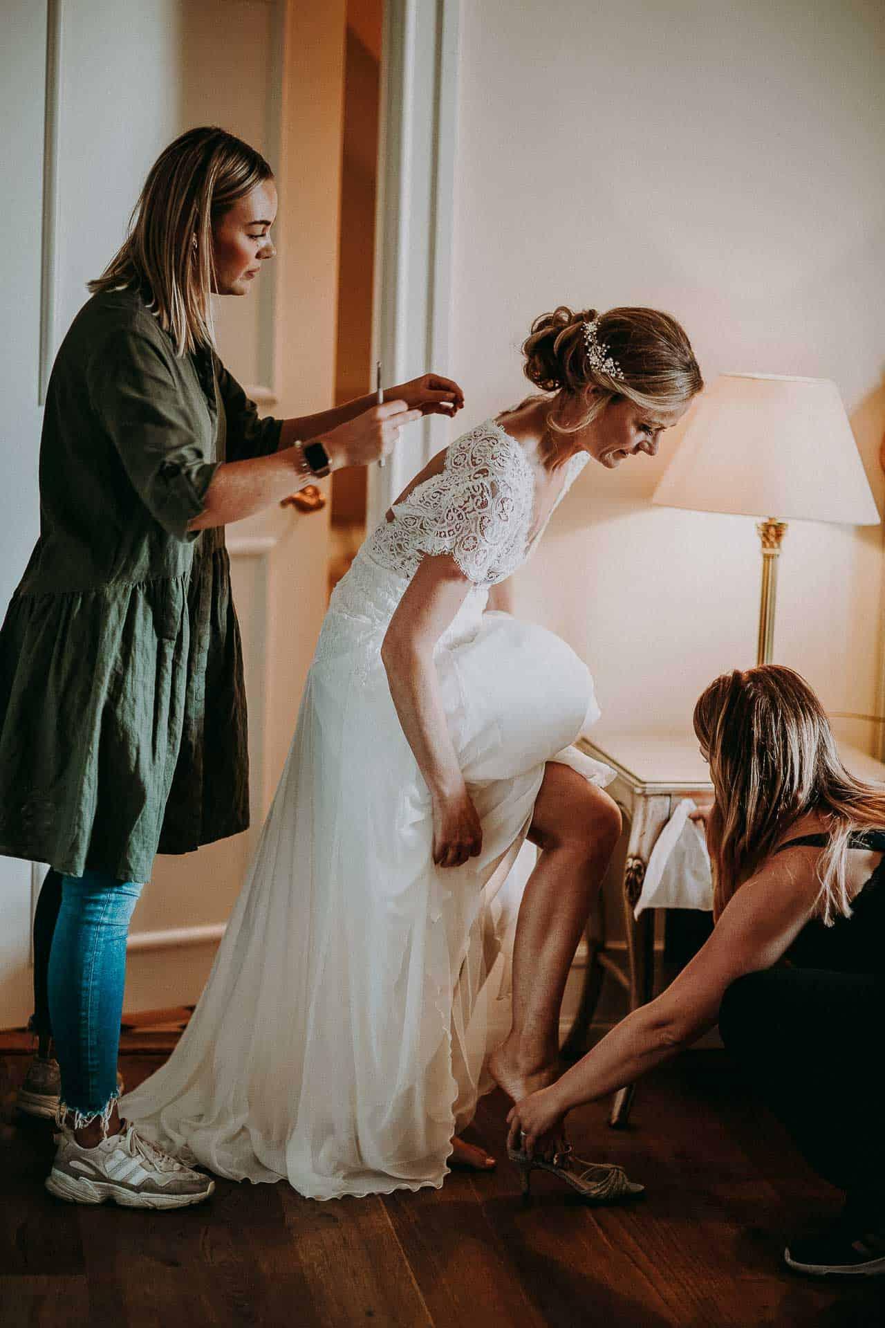 Brudekjolen | Kongehuset - Bryllupsforberedelser