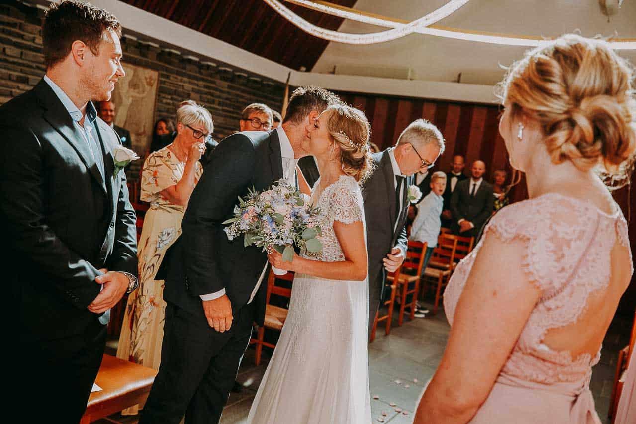 Billeder af Kong Haakons kirke København bryllup