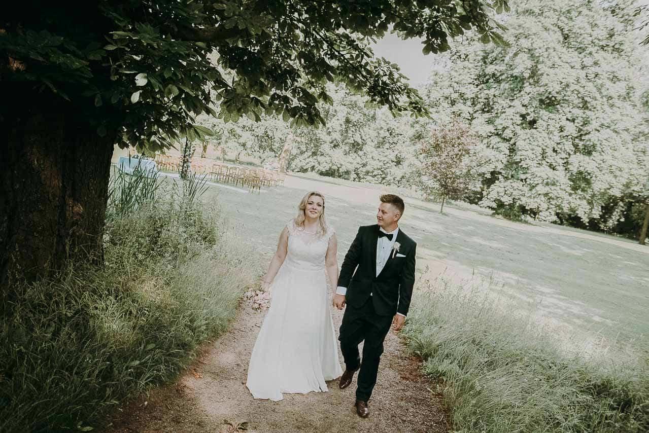 et romantisk Dragsholm Slot bryllup i Nordsjælland