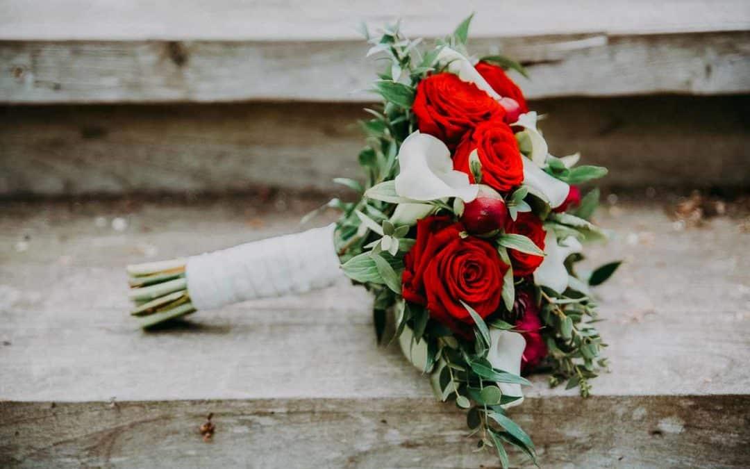 Valg af blomster til brylluppet