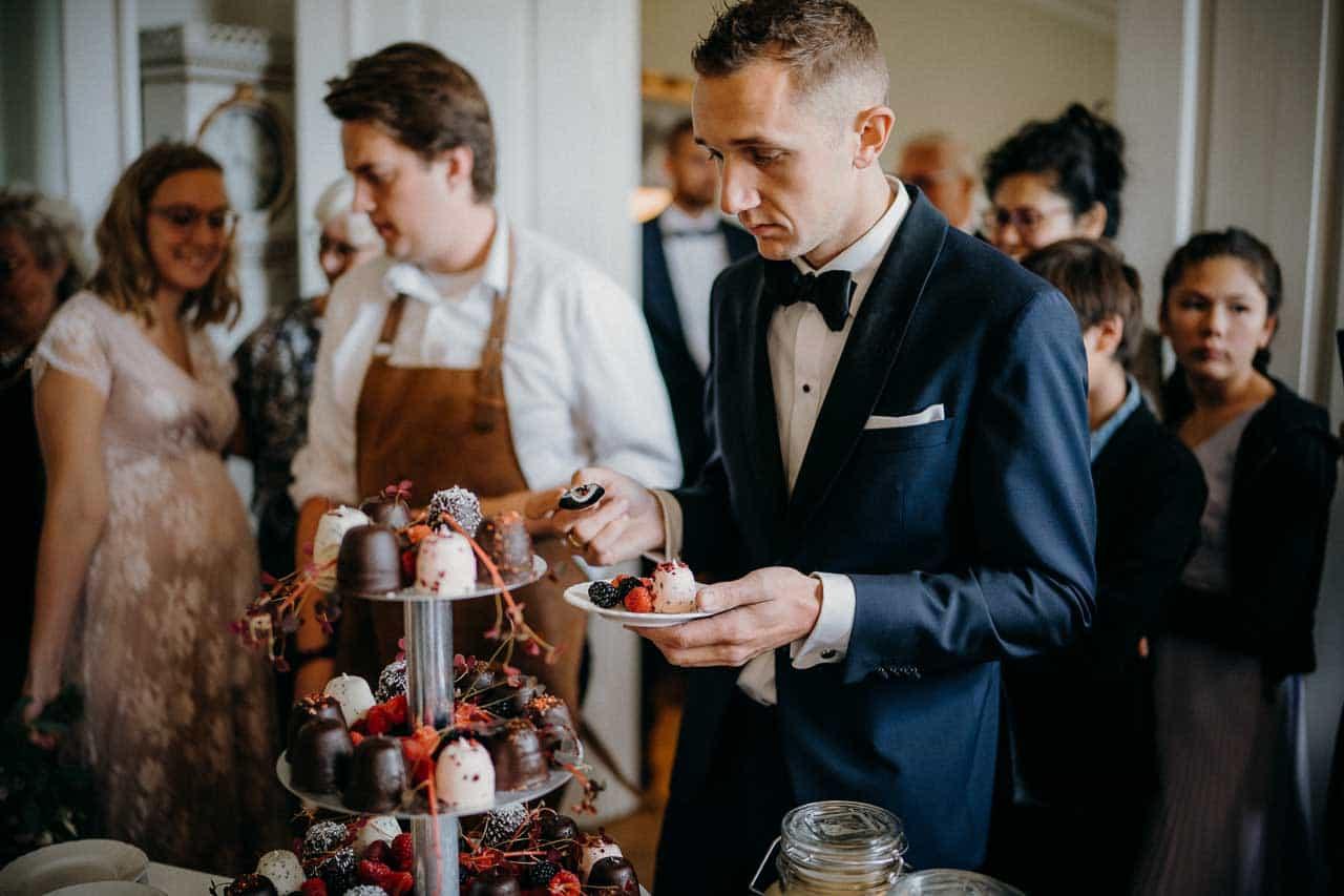 Bryllup i smukke selskabslokaler i Odense på Fyn ...