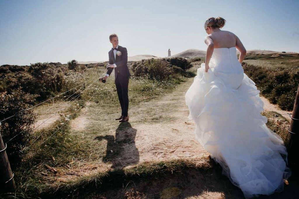 En brudekjole er en kjole, som udelukkende anvendes i forbindelse med bryllup eller vielse.
