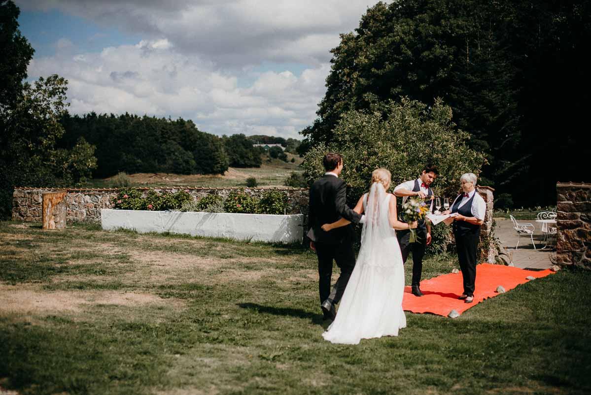 Flere billeder af lade bryllup nordjylland