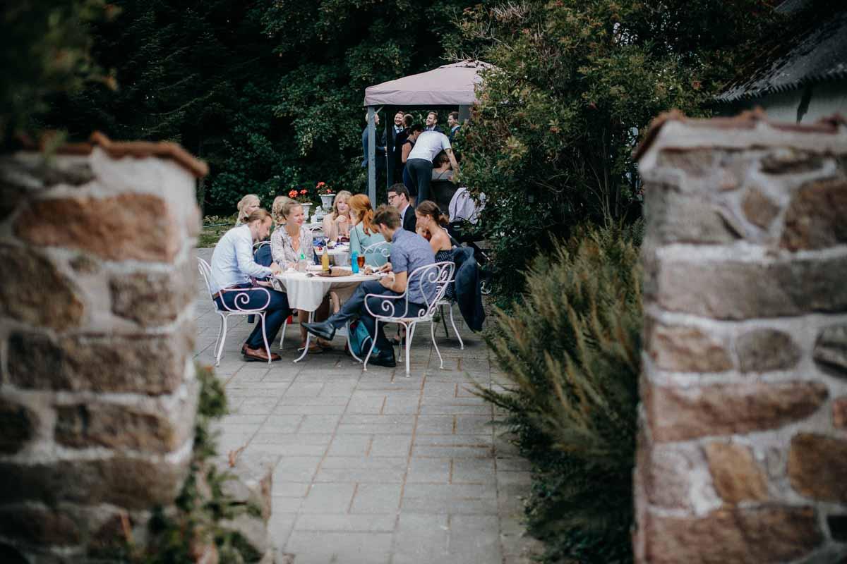 Rustik lokation til bryllupsfoto