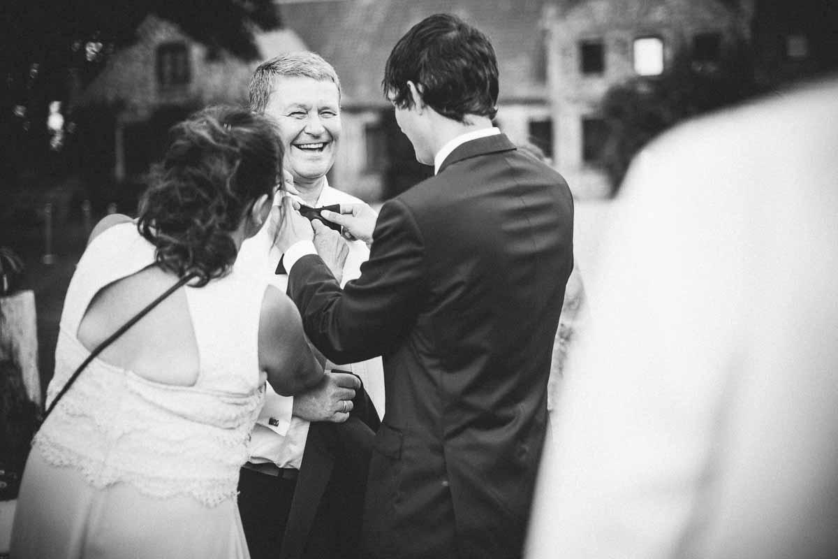 Bryllup i nordjysk klitplantage. Vi elsker bryllupper