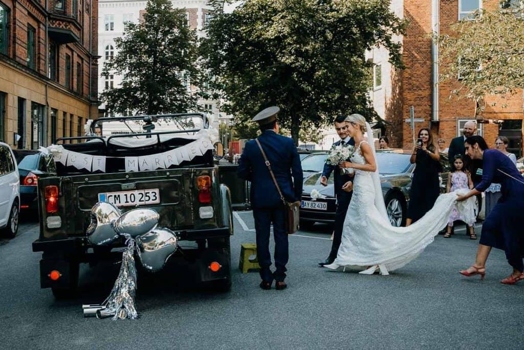 Bryllup i Frederiksberg