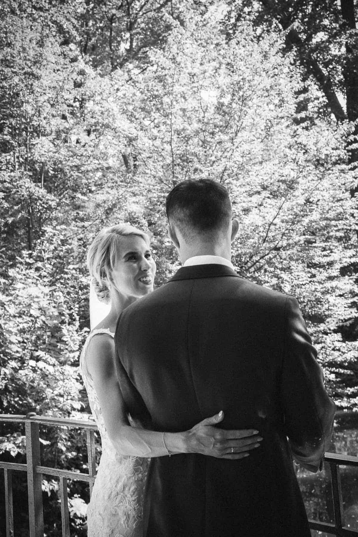 ideer til et klassisk bryllup, et havebryllup