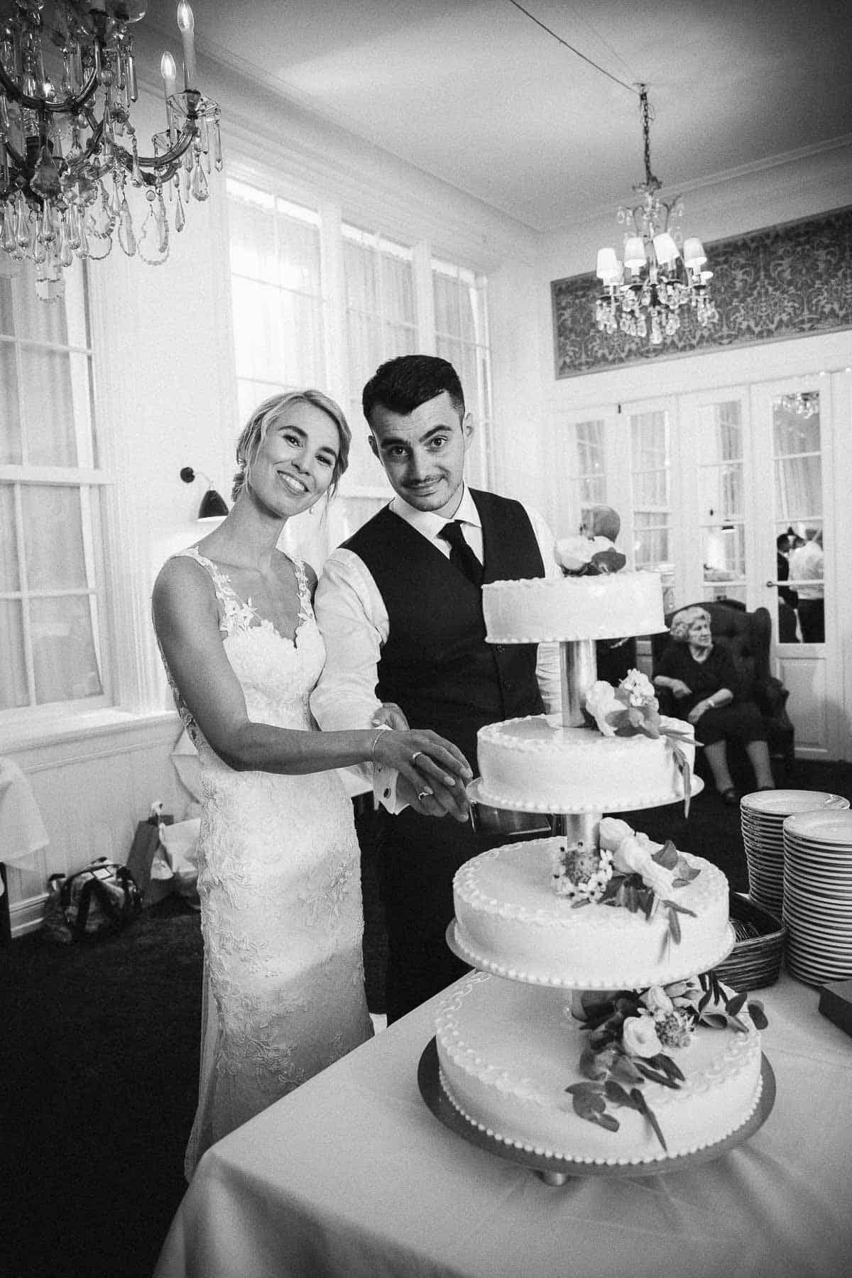 Bryllup i Frederiksberg Have - Professionel bryllupsfotograf