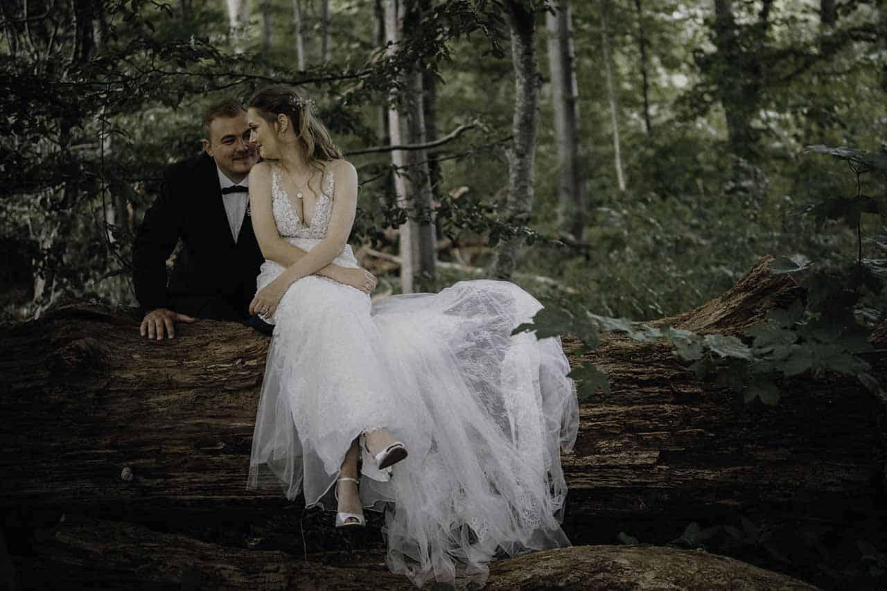 Bryllupsfotograf Vejle - Gommen venter