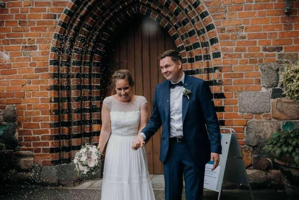 Romantisk bryllup med overnatning på Sjælland