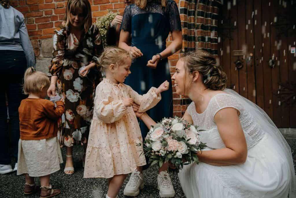 Gård bryllup Sjælland