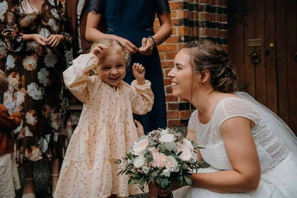 Romantisk bryllup Sjælland