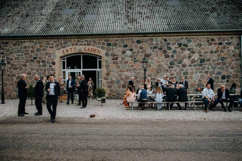 fantastiske bryllup på Sonnerupgaard Gods i Hovedbygningen
