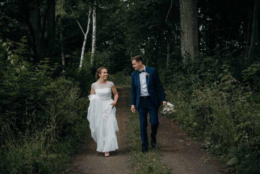 Bryllup i 1877 Laden nytårsaften - Sonnerupgaard Gods