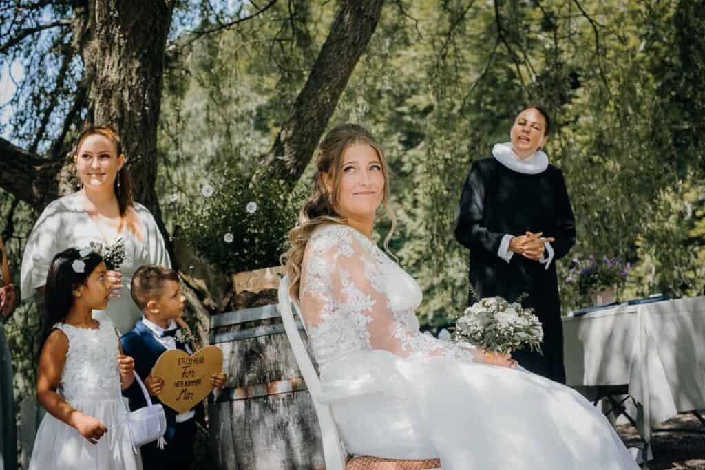 Bryllup på Restaurant Knapp & Løjt Kro. Se flere bryllupsbilleder