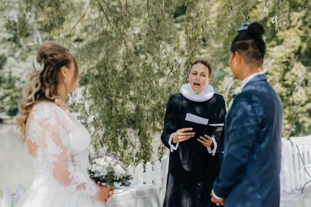 Billeder af Restaurant Knapp bryllup