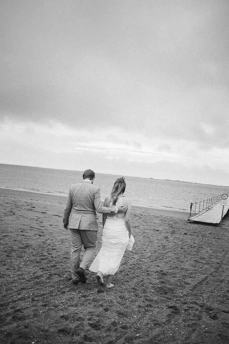 Bryllupsportrætter ved Hjerting Strand