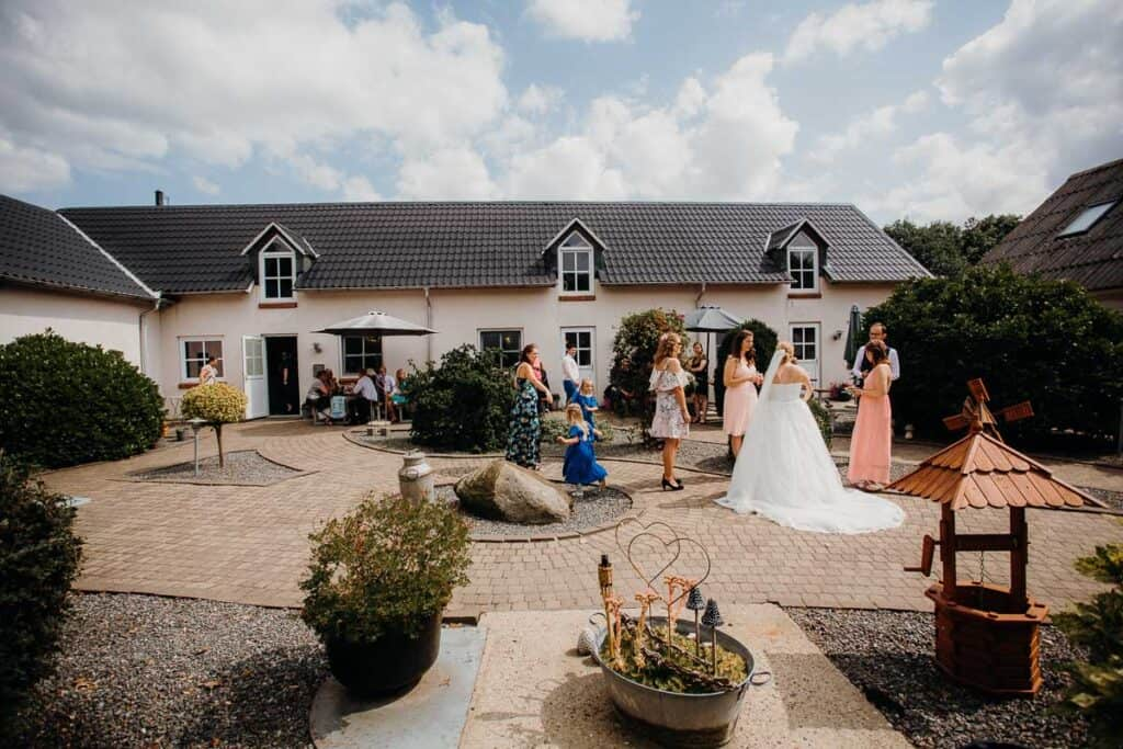 Bryllupsfest på Sinding Feriecenter