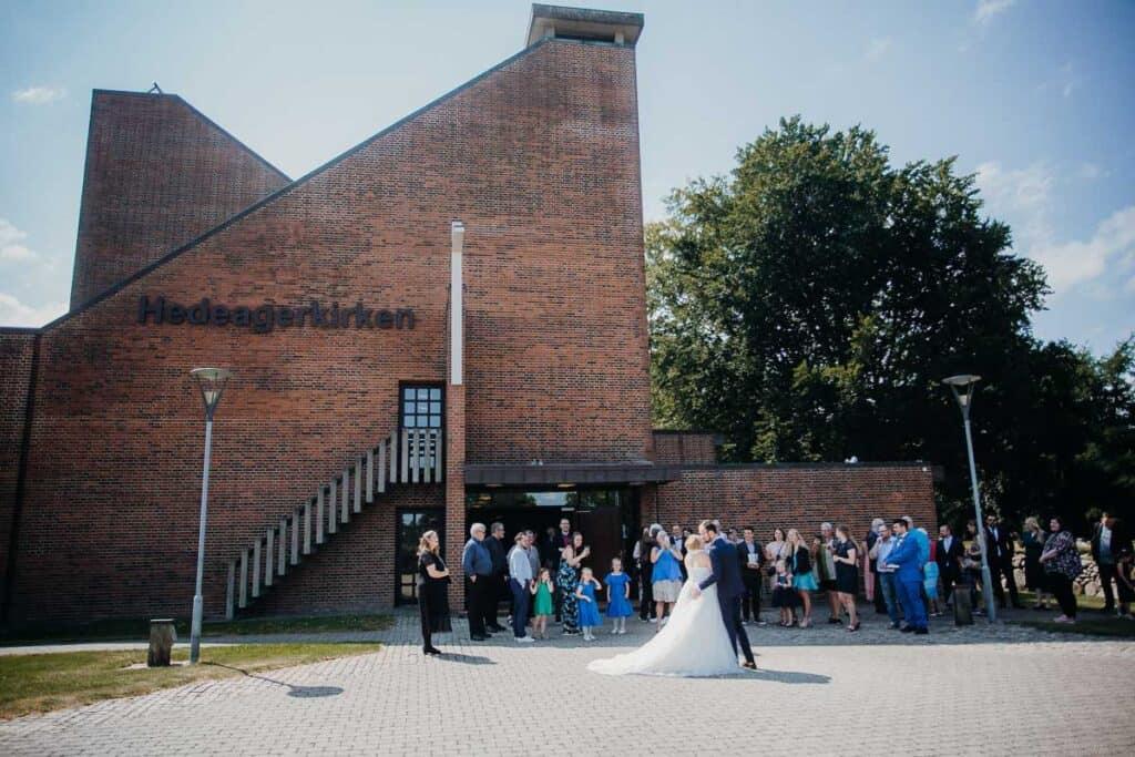 Vielse i Hedeagerkirken i Herning